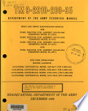 Field and Depot Maintenance Manual for Pump, Injector, Fuel Assembly, 2910-333-5006 (Simmonds Model SU-15G3), Pump, Injector, Fuel Assembly, 2910-571-6766 (Simmonds Model SU-570) ... End Item Application, Engine, Gasoline, 6-cylinder, Continental Model