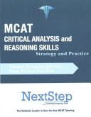 MCAT Critical Analysis and Reasoning Skills  Strategy and Practice
