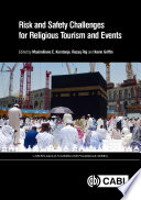 Risk And Safety Challenges For Religious Tourism And Events