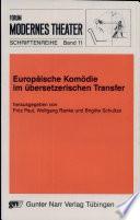 Europäische Komödie im übersetzerischen Transfer