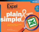 Microsoft Excel Version 2002 Plain   Simple
