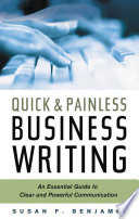 Quick   Painless Business Writing