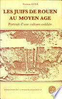 illustration Juifs de Rouen au Moyen Age (Les)