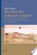 Die Welt des Johannes Letzner