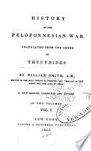 History Of The Peloponnesian War : ...