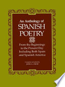 An Anthology of Spanish Poetry