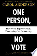 One Person  No Vote Book PDF