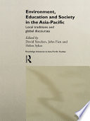 Environment  Education and Society in the Asia Pacific