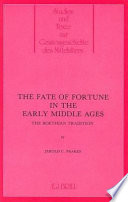 The Fate of Fortune in the Early Middle Ages