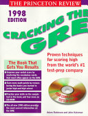 Cracking the GRE 1998