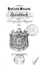 Hof- und Staatshandbuch des Königreichs Bayern