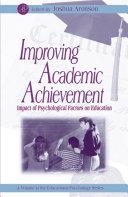 Improving Academic Achievement