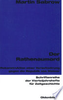 Der Rathenaumord