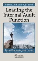 download ebook leading the internal audit function pdf epub