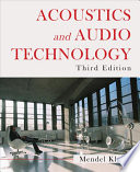 Acoustics and Audio Technology