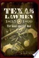 Texas Lawmen  1835 1899