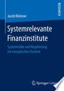 Systemrelevante Finanzinstitute