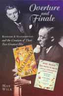 Overture and Finale Broadway History That Of