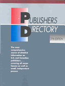 Publishers Directory Coverage Of Approximately 30 000 U S And