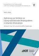 Optimierung von Verfahren zur Loesung rechtsrelevanter Wissensprobleme in kritischen Infrastrukturen : Befunde im Smart Grid und technikrechtliche Empfehlungen