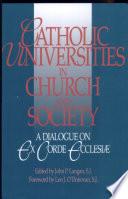 Catholic Universities in Church and Society