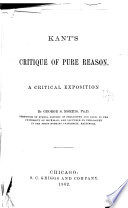Kant s Critique of Pure Reason