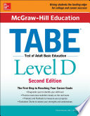 McGraw Hill Education TABE Level D  Second Edition