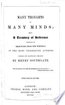 Many Thoughts of Many Minds Book PDF