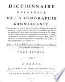Dictionnaire universel de la geographie commercante   etc