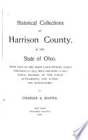 Historical Collections of Harrison County  in the State of Ohio