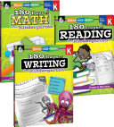 180 Days of Reading  Writing and Math for Kindergarten 3 Book Set