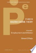 Studies in Macroeconomic Theory