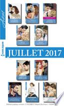10 romans Azur   1 gratuit  no3845    3854   Juillet 2017