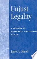 Unjust Legality