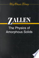 The Physics Of Amorphous Solids book