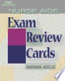Nurse Aide Exam Review Cards