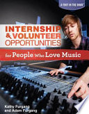 internship volunteer opportunities for people who love music