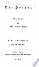 Geschichten hellenischer Stämme und Städte