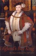 England S Boy King