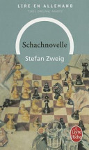 Le Joueur D Echecs Schachnovelle