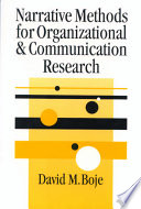 Narrative Methods for Organizational   Communication Research