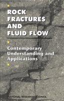 Rock Fractures and Fluid Flow Book