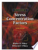Peterson s Stress Concentration Factors