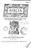 Biblia sacra latina