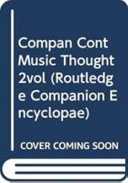 Companion to Contemporary Musical Thought