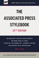 Book The Associated Press Stylebook 2020
