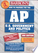 Barron s How to Prepare for the AP U S  Government and Politics Advanced Placement Examinaiton