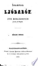 Islenzk Gódabók Jóns Þorlákssonar