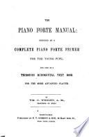 The Piano Forte Manual