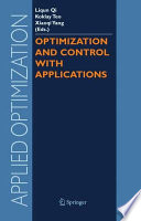 Optimization And Control With Applications book